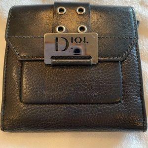 Christian Dior Leather Vintage Wallet